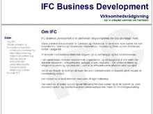 I F C Business Development ApS