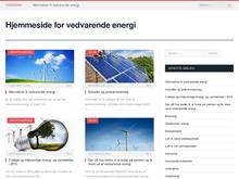 Organisationen for Vedvarende Energi, OVE